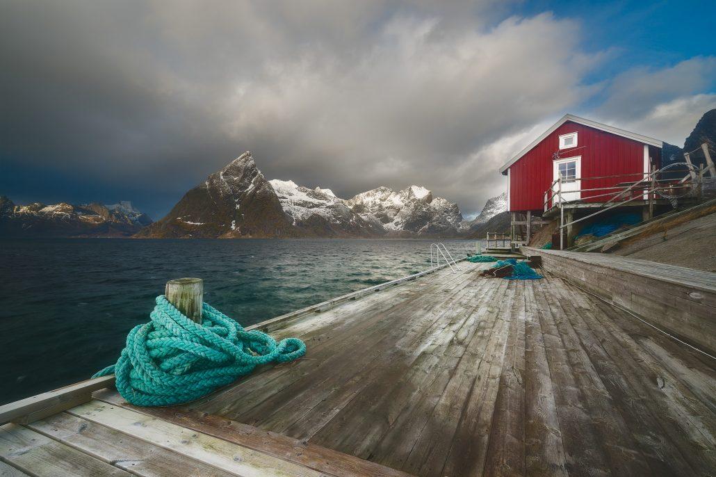 Hamnøy, Toppøya, Lofoten Islands