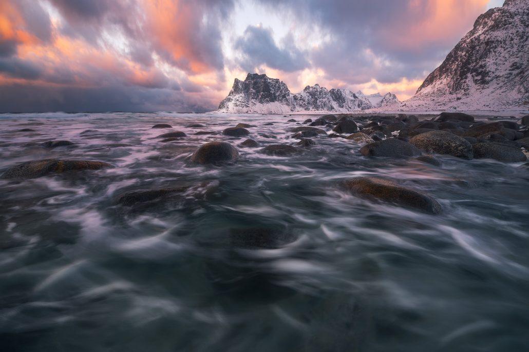 Uttakleiv Beach, Lofoten Islands
